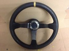 MAZDA RX7 DRIFT SPEC STEERING WHEEL 3 SPOKE WITH BOSS FD3S