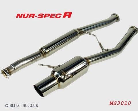 Subaru Impreza GC8 Blitz Nur Spec R Exhaust System