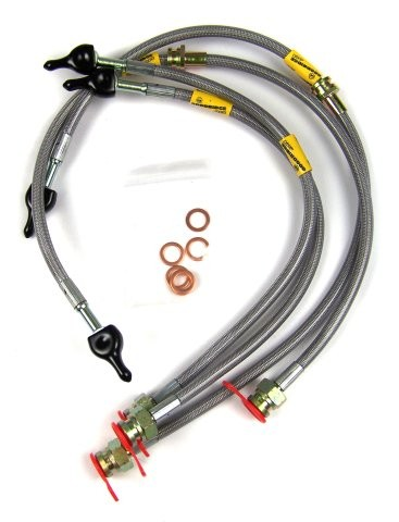 Mitsubishi Lancer Evo 5 Goodridge Brake Lines Braided Hose Kit