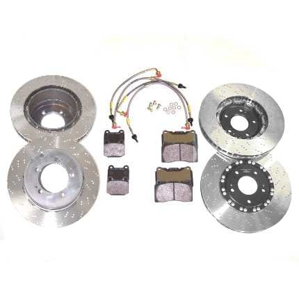 Mitsubishi Lancer Evo 5 Front and Rear High Spec Brake Kit