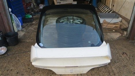HONDA INTEGRA TYPE-R DC5 BOOT LID GLASS SPOILER WIPER MOTOR