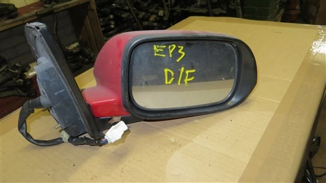 HONDA CIVIC EP3 TYPE R FACELIFT DRIVERS SIDE WING MIRROR
