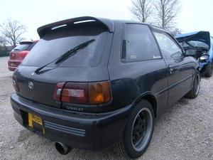 BREAKING TOYOTA STARLET GT TURBO EP82 - Cars for Breaking