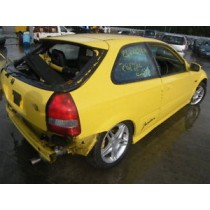 BREAKING 1999 HONDA CIVIC JORDAN  V TEC B16A2