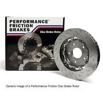 Subaru Impreza WRX STI V9 Performance Friction replacement discs