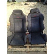 HONDA CIVIC EK9 TYPE R INTEGRA DC2 BLACK RECARO SEATS DB8 VTI