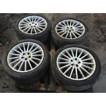 SUBARU LEGACY GTB RF FIRRENZE ALLOY WHEELS WITH TYRES COMPLETE