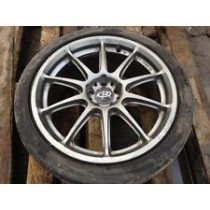 1 X ROTA 17 ALLOY WHEEL WITH TYRE