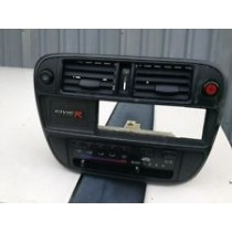 HONDA CIVIC EK9 TYPE R CARBON HEATER CONTROLS SURROUND COMPLETE CONVERSION