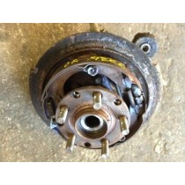 SUBARU IMPREZA WRX STI 2004 DRIVERS SIDE REAR HUB SPEC C