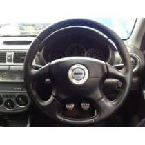 SUBARU IMPREZA WRX STI V7 JDM STEERING WHEEL NO AIR BAG