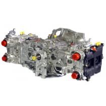 Cosworth Subaru EJ25 Big Valve Cylinder heads and KK3920 Camshafts Billet Crank