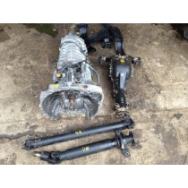 SUBARU IMPREZA WRX STI 6 SPEED DCCD GEARBOX DIFF PROP AND CRADLE JDM SWAP