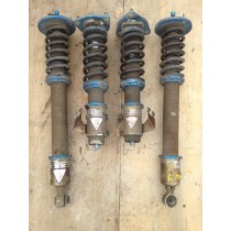 NISSAN SILVIA S15 SPEC R KTS COILOVERS WITH FRONT ADJUSTABLE TOP PILLOW MOUNTS