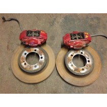 MITSUBISHI LANCER EVO 8 BREMBO CALLIPERS FULL SET
