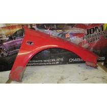 MITUSBISHI LANCER EVO 4GSR DRIVERS SIDE FRONT WING FENDER PANEL RED