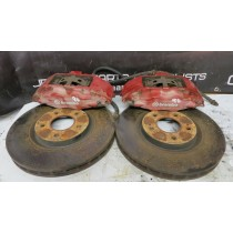 GENUINE MITSUBISHI LANCER EVOLUTION 7 8 9 FRONT BREMBO CALIPERS DISCS PADS