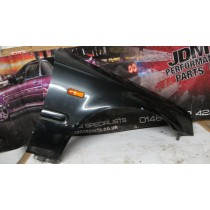 HONDA CIVIC EK9 TYPE R EK B16B DRIVERS SIDE FRONT WING FENDER PANEL BLACK