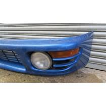 SUBARU IMPREZA WRX STI V3 V4 PRE FACELIFT FRONT BUMPER COMPLETE WITH FOG LIGHTS