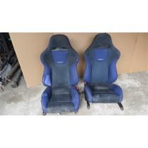 MITSUBISHI LANCER EVO 6 FRONT SEATS INTERIOR FAIR CONDITION