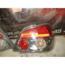 SUBARU IMPREZA WRX STI GDB NEWAGE HAWKEYE V10 REAR LIGHTS CLEAR