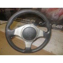 MITSUBISHI LANCER EVO 7 8 9 OEM STEERING WHEEL WITH AIRBAG