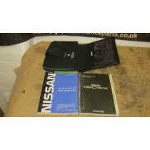 NISSAN SILVIA 180SX GENUINE OEM HAND BOOKLET MANUALS AND SERVICE BOOK - JDM