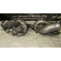 NISSAN SKYLINE R33 TWIN TURBO M24 GARRET TURBO TURBOCHARGERS