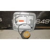 SUBURU IMPREZA V4-V6 FUEL FLAP SILVER - JDM