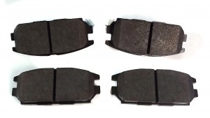 Rear Brake Pad Set Evo 1 to 4