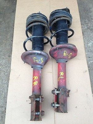SUBARU IMPREZA WRX STI REAR SHOCKS SPRINGS RED STI