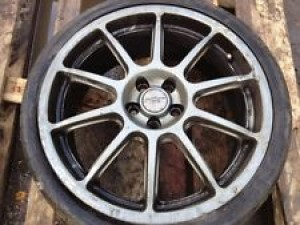 1 X SUBARU 0Z PRODRIVE 18 ALLOY WHEEL WITH TYRE 5 X 100