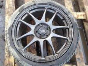 1 X SUBARU ROTA TORQUE 17 ALLOY WHEEL WITH TYRE 5 X 100