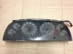 NISSAN SKYLINE R32 GTS TURBO MANUAL SPEEDO CLUSTER CLOCKS NISSAN SKYLINE R32 GTS TURBO MANUAL SPEEDO