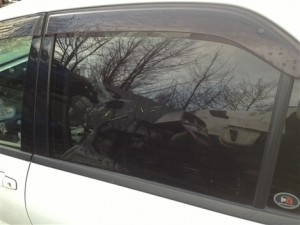 MITSUBISHI LANCER EVO 8 PASSENGER SIDE REAR GLASS