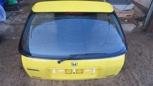HONDA CIVIC EK4/EK9 JORDEN BOOT LID GLASS AND SPOILER